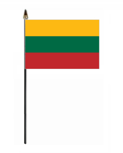 Lithuania Country Hand Flag - Small.